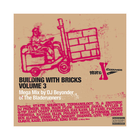 Various Artists (Mixed & Edited by Beyonder of The Bladerunners) - 'Building With Bricks Vol. 3' [CD [2CD]]