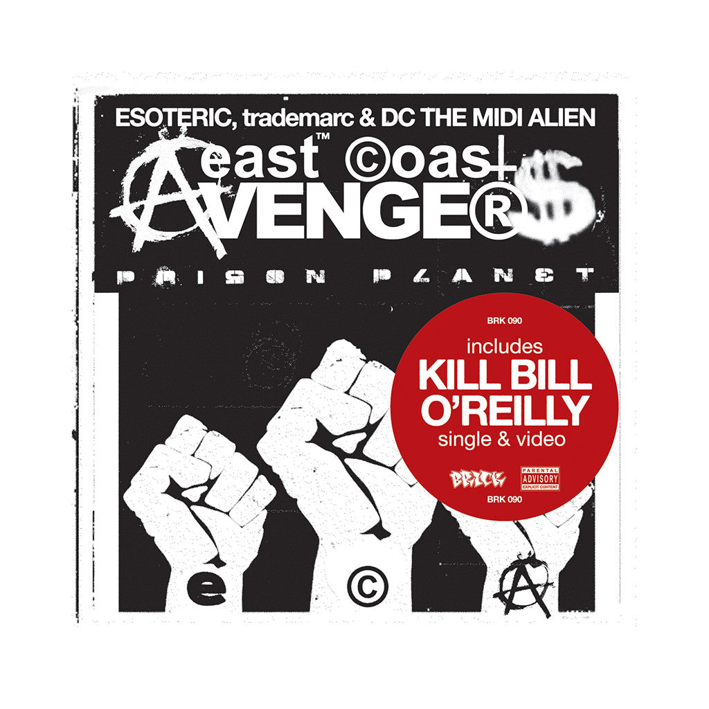 <!--2008100828-->East Coast Avengers - 'Prison Planet' [Streaming Audio]