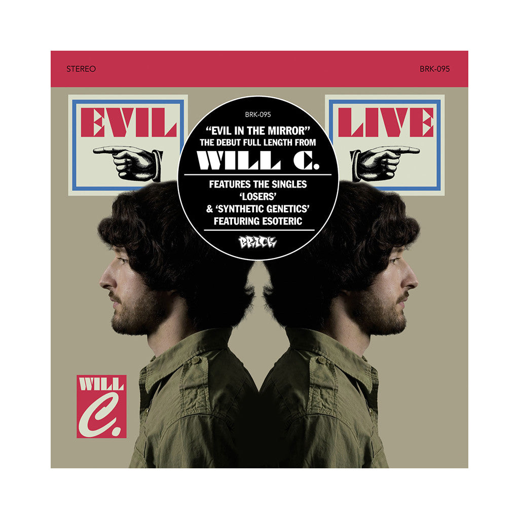 <!--120090714017296-->Will C. - 'Evil In The Mirror' [CD]