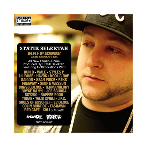 Statik Selektah - '100 Proof (The Hangover)' [CD]