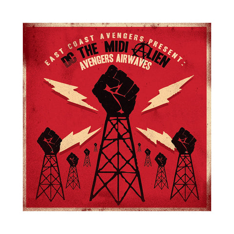 DC The Midi Alien - 'Avengers Airwaves' [CD]