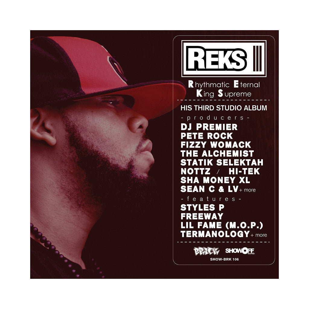 <!--2011031651-->Reks - 'Face Off' [Streaming Audio]
