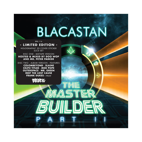 Blacastan (Mixed By: Doo Wop & Mr. Peter Parker) - 'The Master Builder Part II (Mixtape Version + Album Version)' [CD [2CD]]