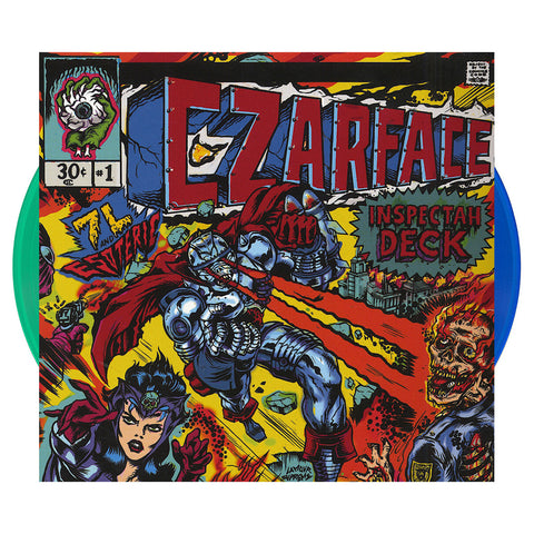 CZARFACE - 'CZARFACE' [(Clear Blue + Clear Green) Vinyl [2LP]]