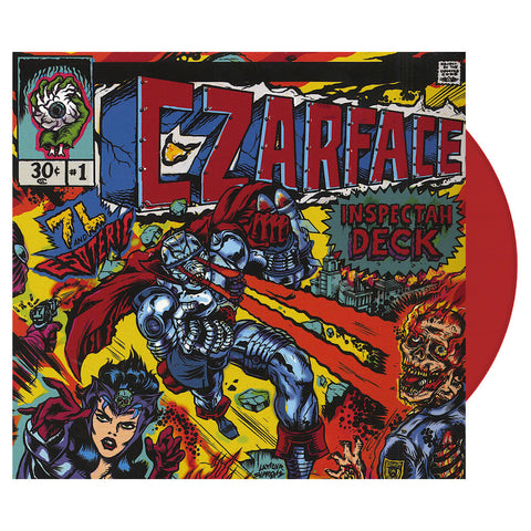CZARFACE - 'CZARFACE' [(Red) Vinyl [2LP]]
