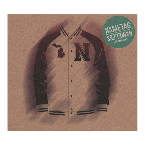 Nametag & Nameless - 'For Namesake' [CD]