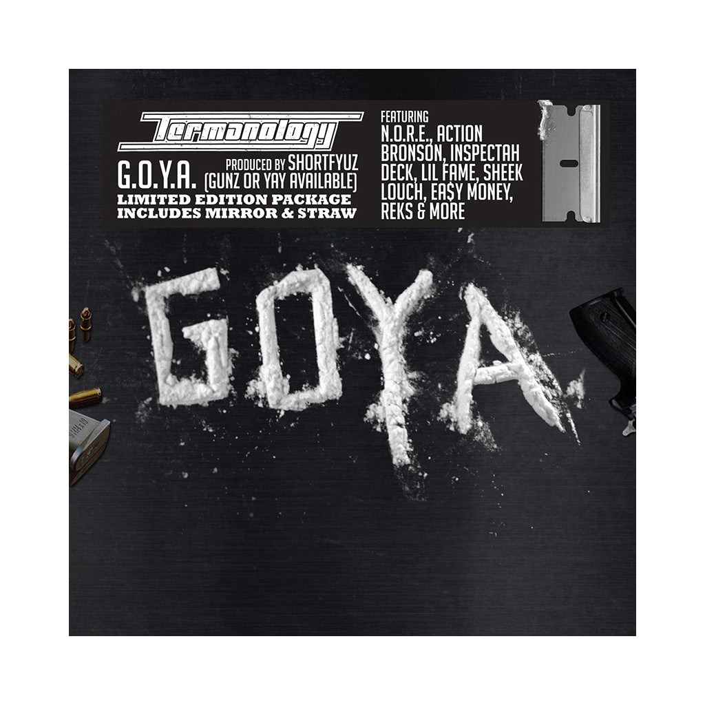 <!--120131008059636-->Termanology - 'G.O.Y.A. (Gunz Or Yay Available)' [CD]
