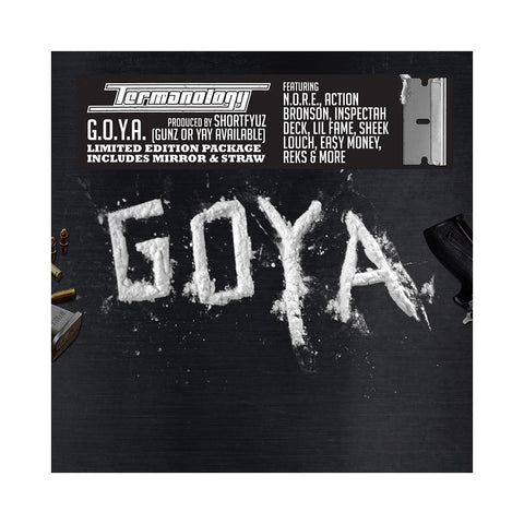 Termanology - 'G.O.Y.A. (Gunz Or Yay Available)' [CD]