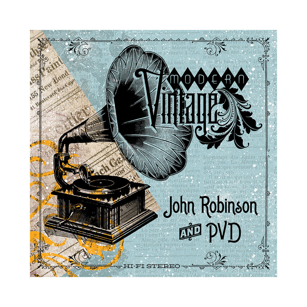 <!--2014061707-->John Robinson & PVD - 'Vinyl Is Forever' [Streaming Audio]