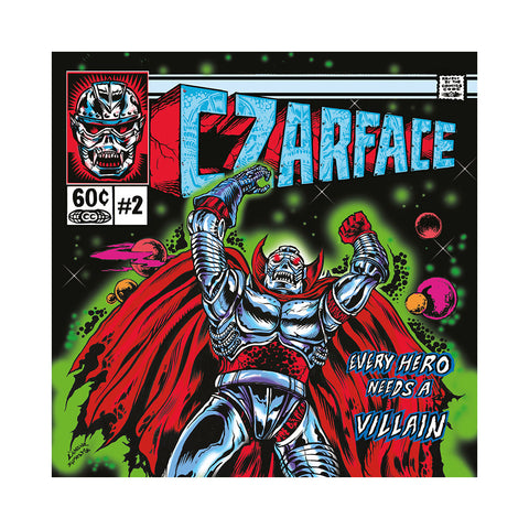 CZARFACE - 'Every Hero Needs A Villain (Deluxe Edition)' [CD]
