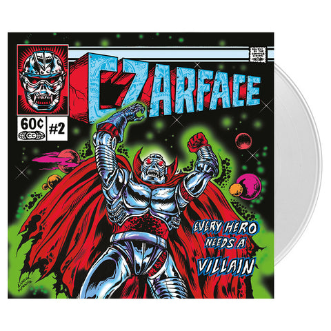 CZARFACE - 'Every Hero Needs A Villain' [(Clear) Vinyl [2LP]]