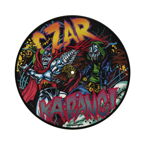 "CZARFACE - 'Ka-Bang!/ Ka-Bang! (Remix)/ Deviatin' Septums (Hawk & Animal)' [(Picture Disc) 10"" Vinyl Single]"