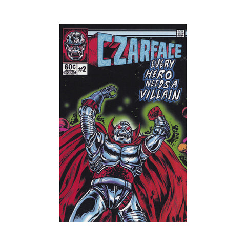 CZARFACE - 'Every Hero Needs A Villain' [(Clear) Cassette Tape]