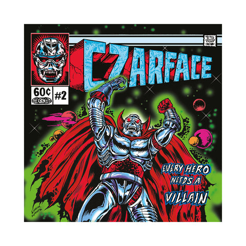 CZARFACE - 'Every Hero Needs A Villain' [CD]