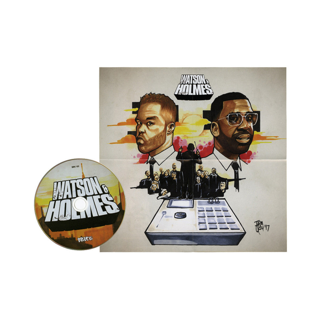 Blacastan & Stu Bangas - 'The Uncanny Adventures of Watson & Holmes' [CD]