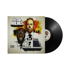 Blacastan & Stu Bangas - 'The Uncanny Adventures of Watson & Holmes' [(Black) Vinyl LP]