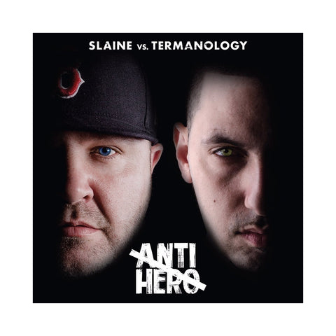"[""Slaine vs. Termanology - 'Anti-Hero' [(Black) Vinyl [2LP]]""]"