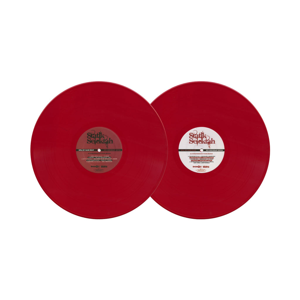 Statik Selektah - 'Spell My Name Right: The Album (10th Anniversary Edition)' [(Red) Vinyl [2LP]]