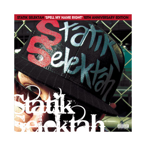 "[""Statik Selektah - 'Spell My Name Right: The Album (10th Anniversary Edition)' [(Red) Vinyl [2LP]]""]"