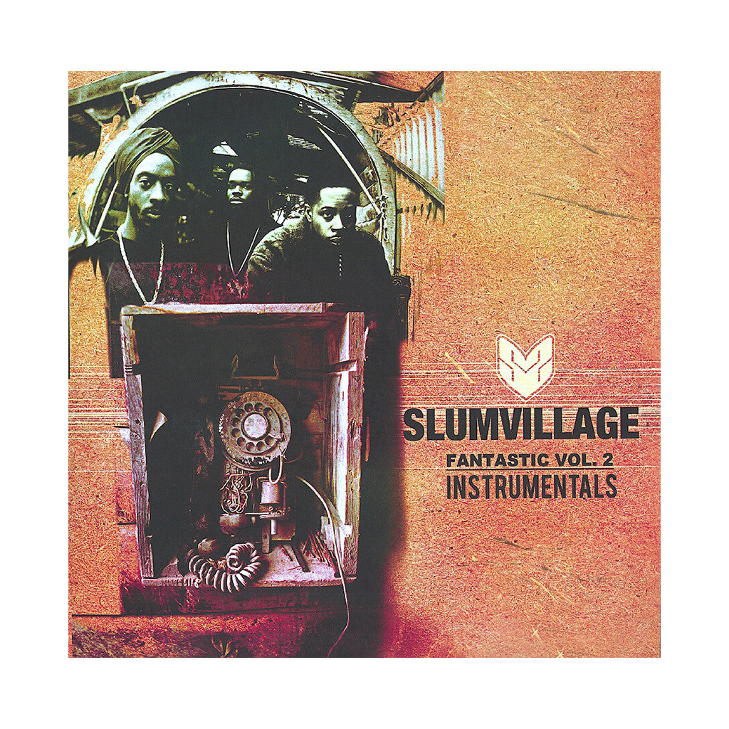 <!--2011082308-->Slum Village - 'Fantastic Vol. 2 (Instrumentals)' [(Black) Vinyl [3LP]]