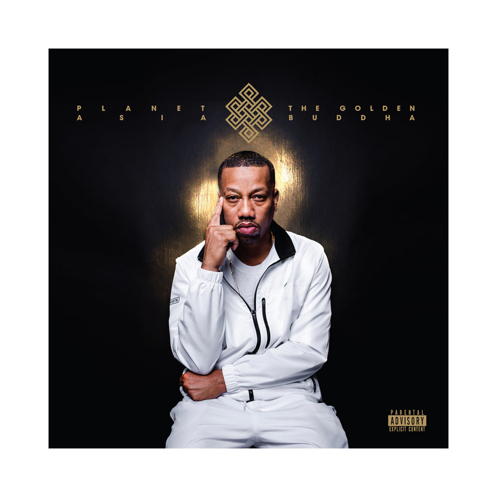 Planet Asia - 'The Golden Buddha' [CD]