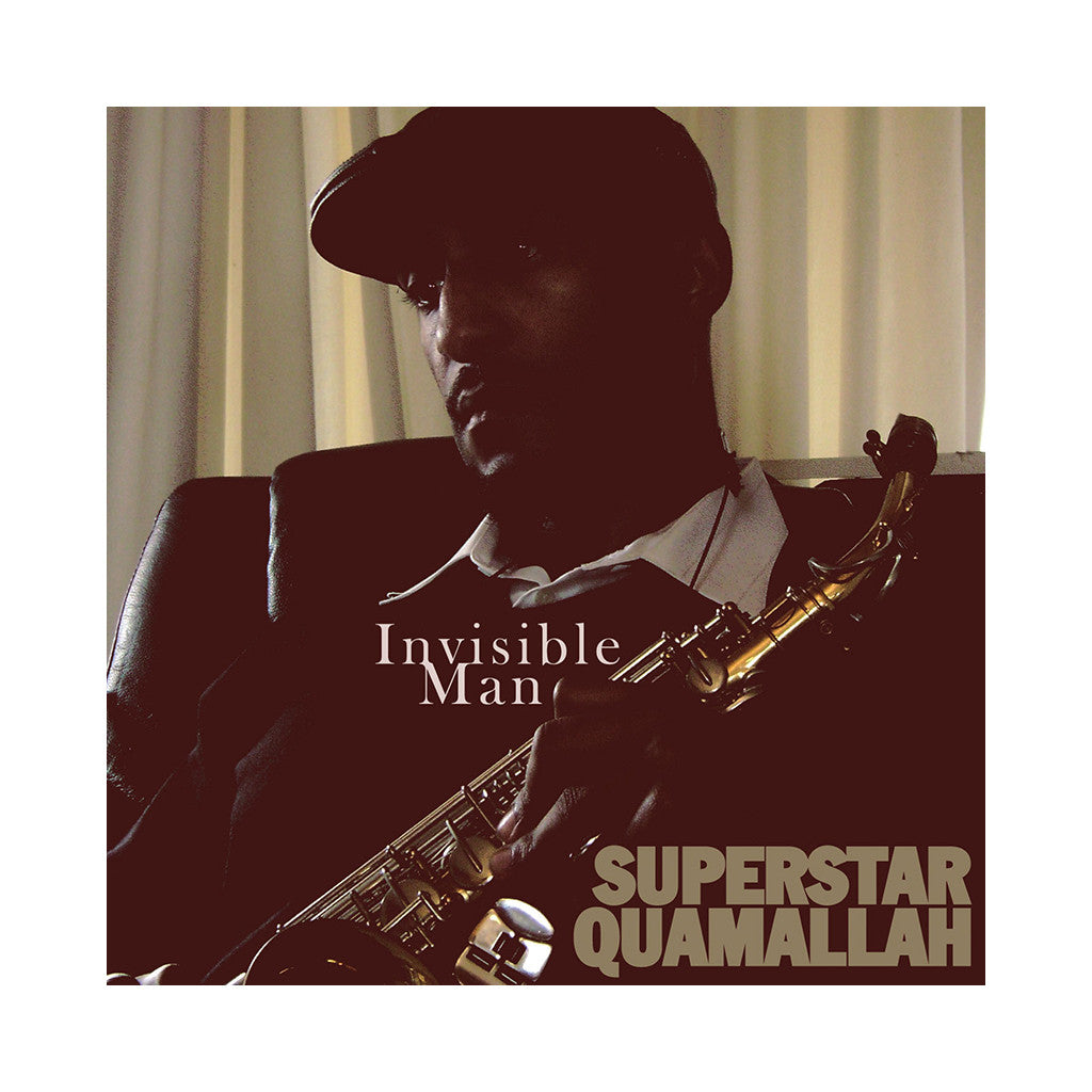 <!--020090505016509-->Superstar Quamallah - 'Invisible Man' [CD]