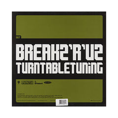 <!--020020101003811-->DJ Peabird - 'Turntable Tuning' [(Black) Vinyl LP]