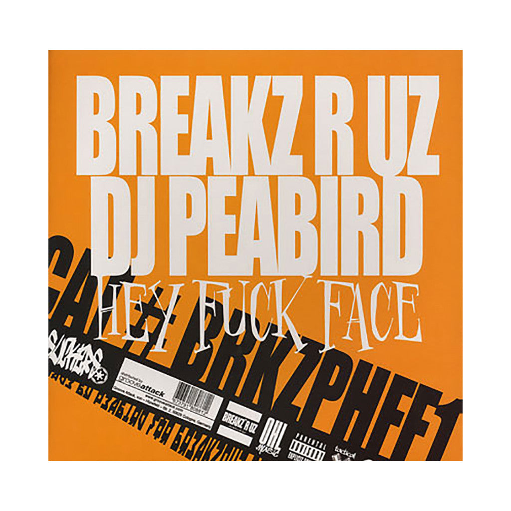 DJ Peabird - 'Hey Fuck Face' [(Black) Vinyl LP]