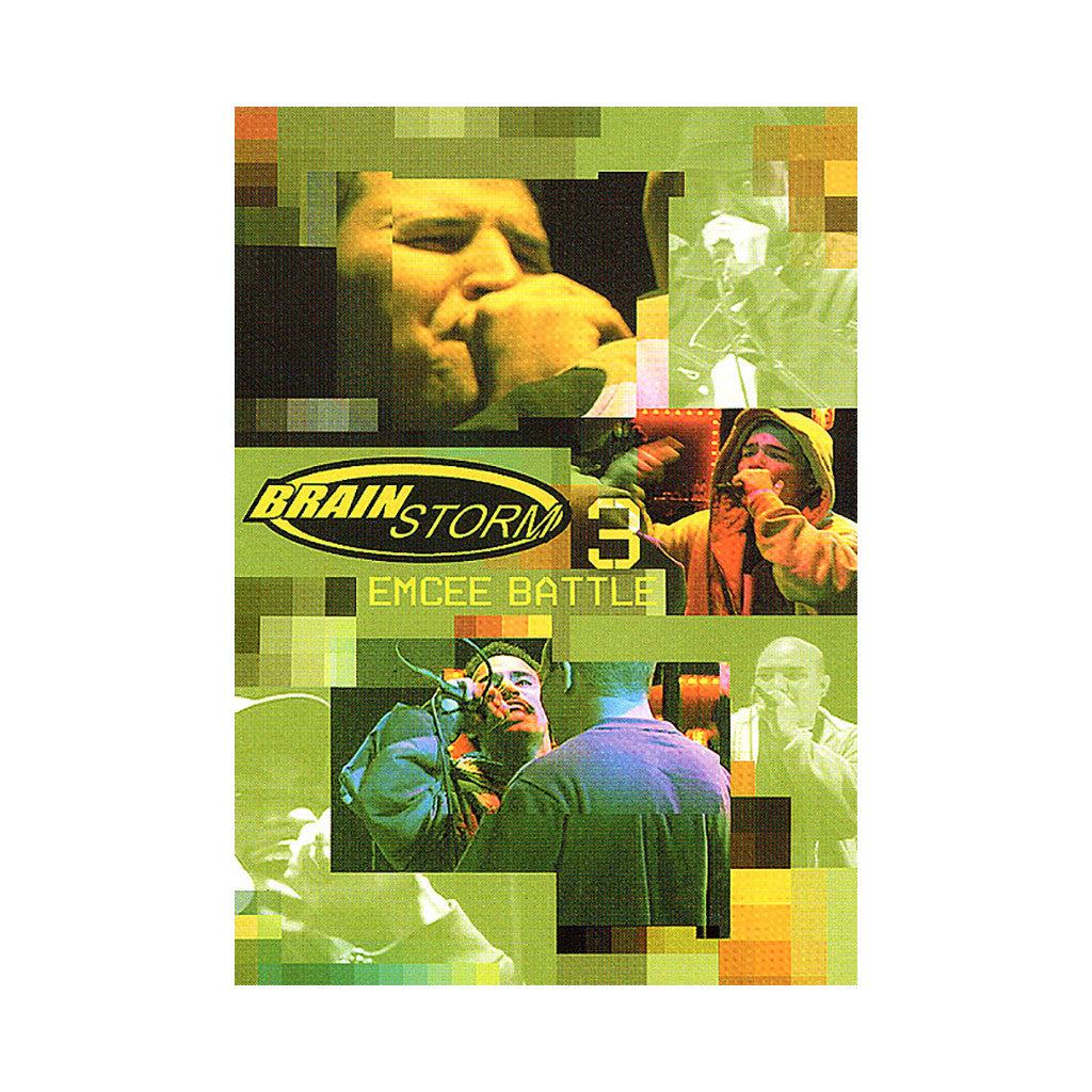 <!--020050830005715-->Brainstorm - 'Vol. 3 (Emcee Battle)' [DVD]