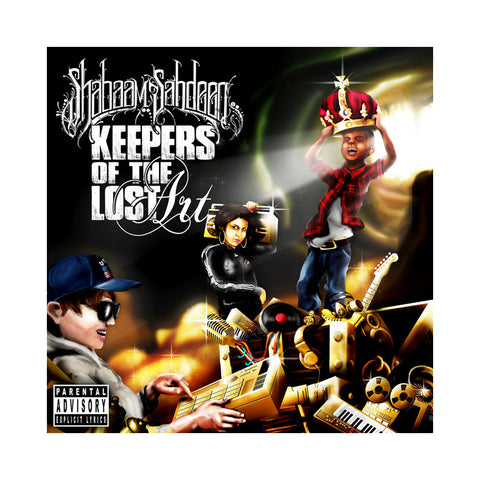 "[""Shabaam Sahdeeq - 'Keepers Of The Lost Art' [CD]""]"