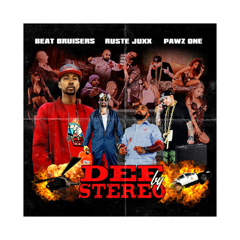 Beat Bruisers x Ruste Juxx x Pawz One - 'Def By Stereo' [CD]