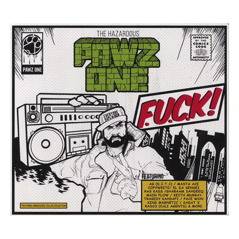Pawz One - 'F.U.C.K.! (Featured Unreleased Collab Kollection)' [CD]
