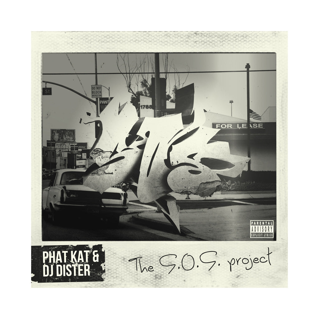 Phat Kat & DJ Dister - 'The S.O.S. Project' [CD]