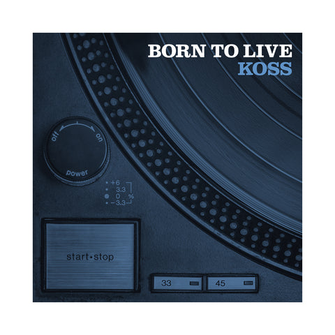 "[""Koss - 'Born To Live' [CD]""]"