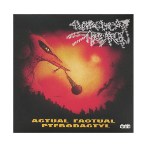 "[""Homeboy Sandman - 'Actual Factual Pterodactyl (Re-Issue)' [CD]""]"