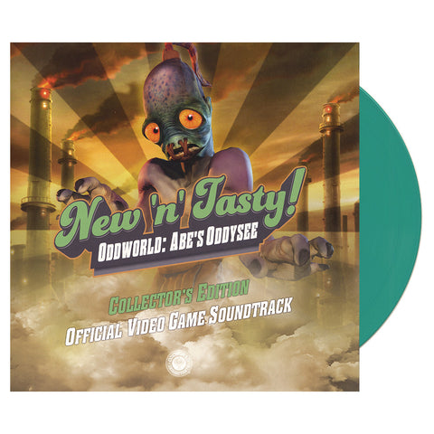 Michael Bross - 'Oddworld: New 'n' Tasty (Official Video Game Soundtrack)' [(Green) Vinyl LP]