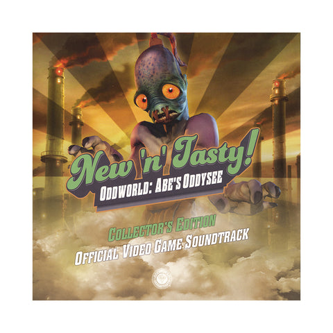 Michael Bross - 'Oddworld: New 'n' Tasty (Official Video Game Soundtrack)' [(Black) Vinyl LP]