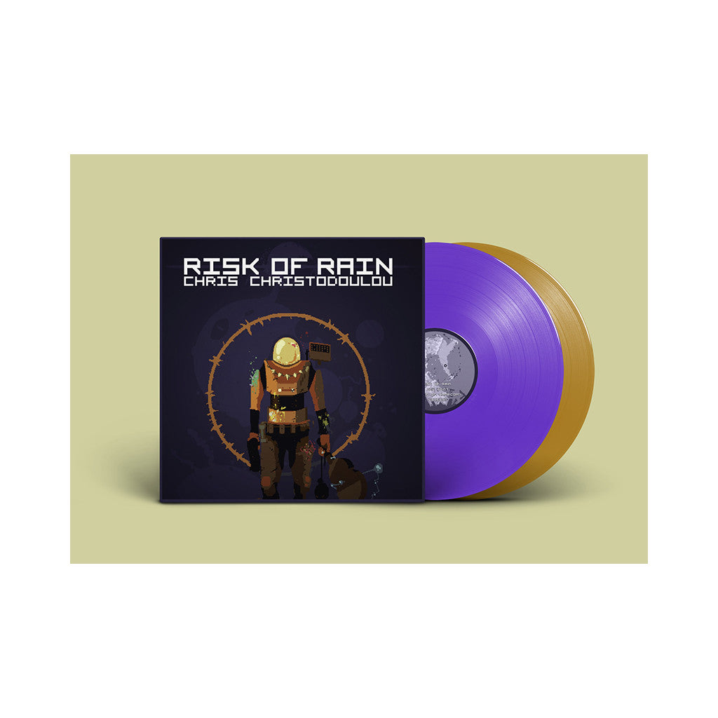 Chris Christodoulou - 'Risk Of Rain (Official Video Game Soundtrack)' [(Purple + Gold) Vinyl [2LP]]