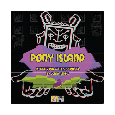 Jonah Senzel - 'Pony Island (Official Video Game Soundtrack)' [(Clear) Vinyl [2LP]]