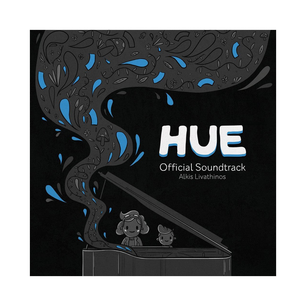Alkis Livanthinos - 'Hue: Official Soundtrack' [(Black) Vinyl [2LP]]