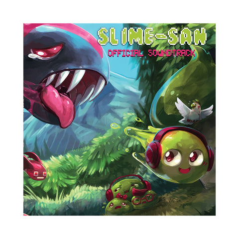 "[""V/A - 'Slime-san: Official Soundtrack' [(Green) Vinyl [2LP]]""]"