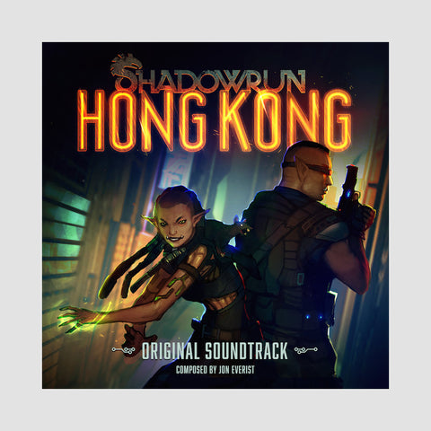 "[""Jon Everist - 'Shadowrun: Hong Kong' [(Gold & Clear) Vinyl [2LP]]""]"