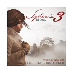 Inon Zur - 'Syberia 3: Official Soundtrack' [(Clear) Vinyl [2LP]]