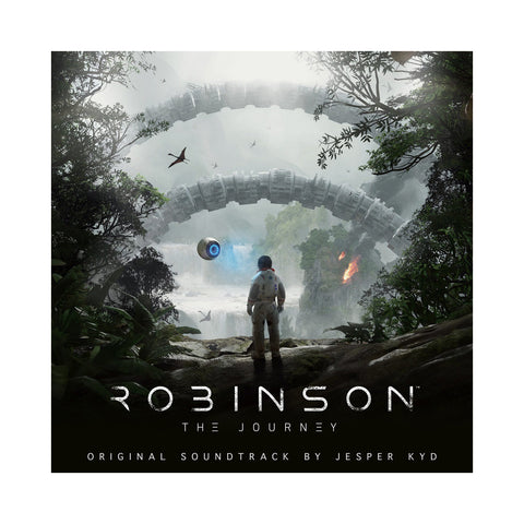 "[""Jesper Kyd - 'Robinson: The Journey (Video Game Soundtrack)' [(White) Vinyl LP]""]"