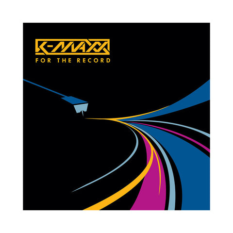 K-Maxx - 'For The Record EP' [(Black) Vinyl EP]