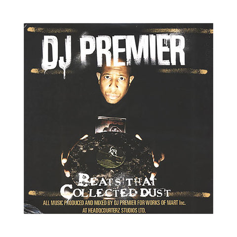 "[""DJ Premier - 'Beats That Collected Dust Vol. 1' [(Black) Vinyl LP]""]"