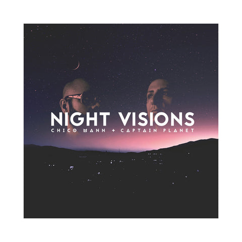 Chico Mann & Captain Planet - 'Night Visions' [(Black) Vinyl LP]