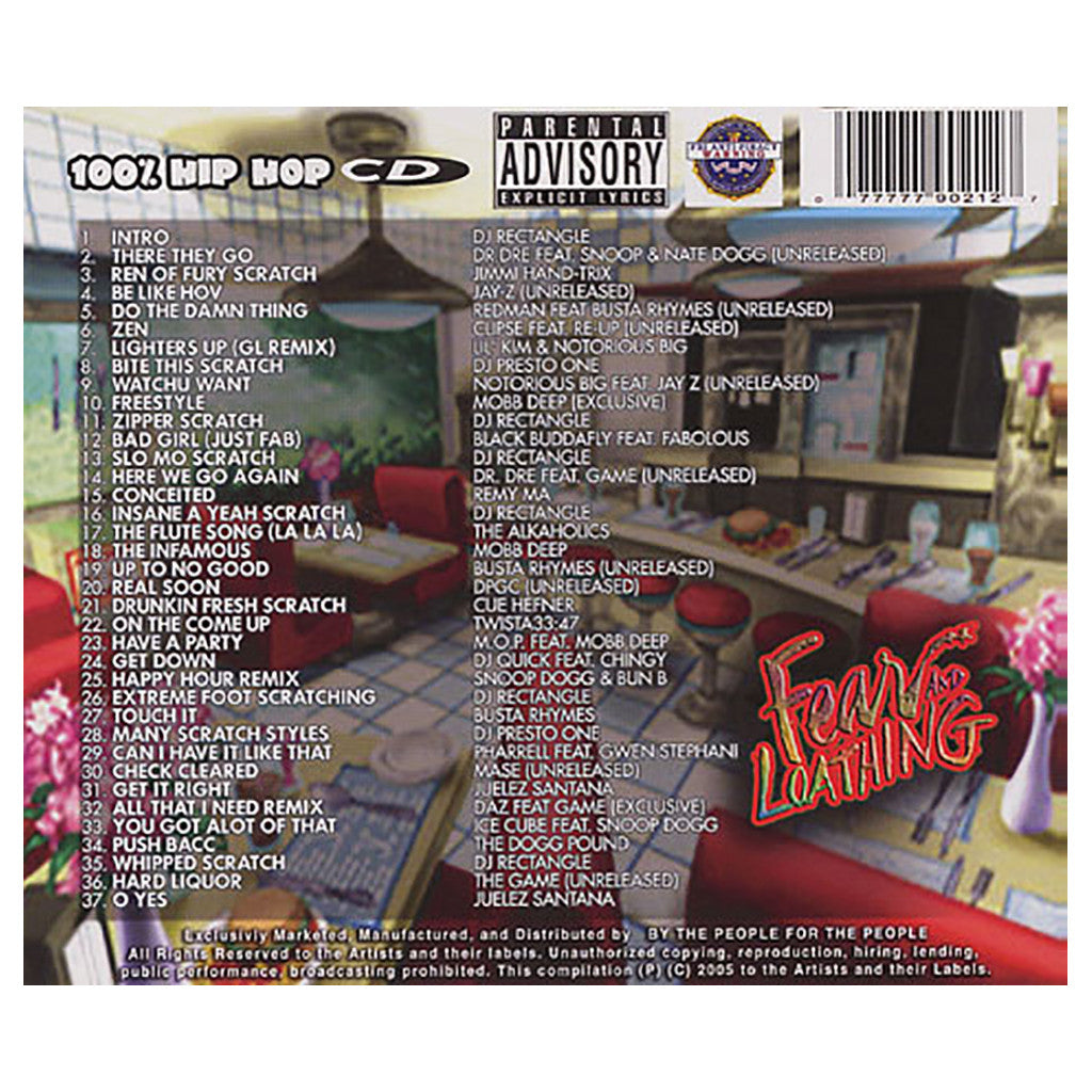 DJ Rectangle - 'Fear And Loathing' [CD]