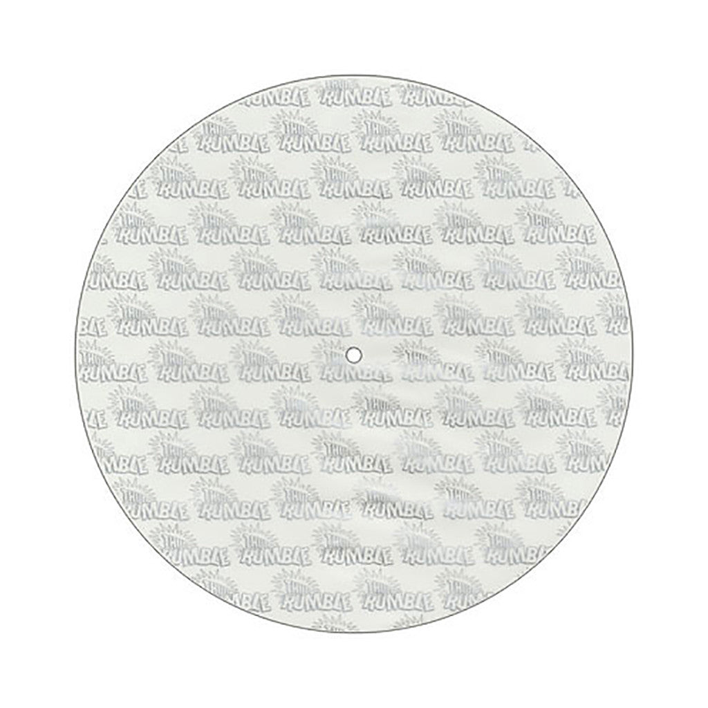 Thud Rumble Records - 'Frosted Plates: White Frosted Butter Rugs (X2) + Flying Carpets (X4)' [Slipmat]