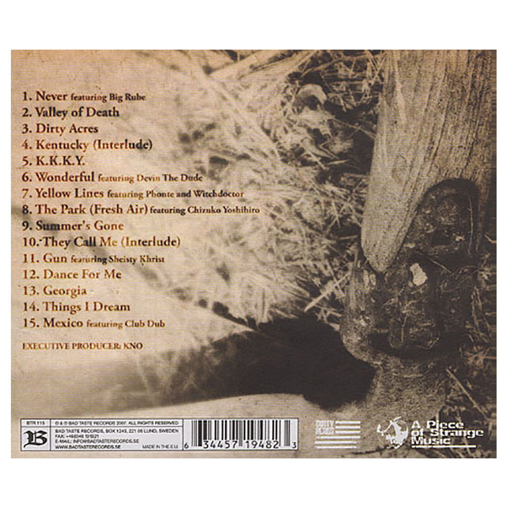 <!--020071120011104-->CunninLynguists - 'Dirty Acres' [CD]